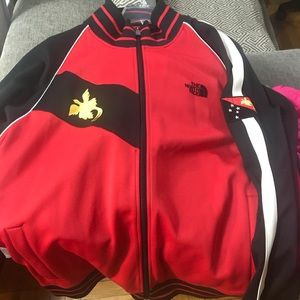 North Face track jacket
